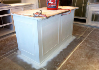 Before-White-Painted-Kitchen-Island-with-Wood-Top