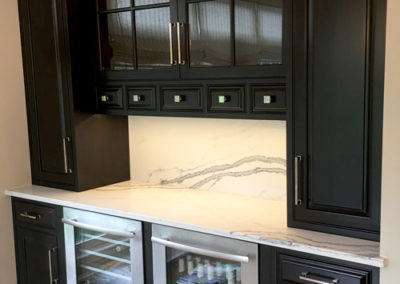 Dark-Painted-Kitchen-Hutch-Bar