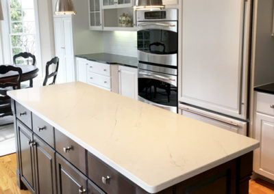 Kitchen-Cabinet-Refinishing-Dark-Island-Color