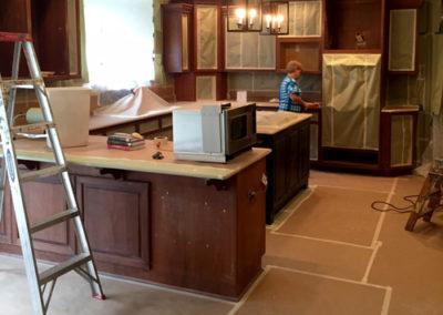 Kitchen-Refinishing-During