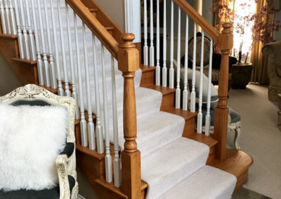 Oak-Staircase-Refinishing-Before-Paint