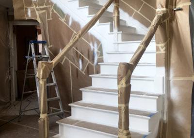 Staircase-Refinishing-Before