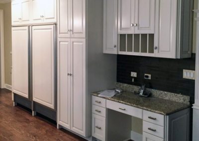 White-Painted-Kitchen-Cabinet-Hutch
